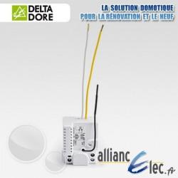 Micromodule récepteur radio sortie alimentée - 1 voie contact sec impulsionnel TBTS - Deltadore Tyxia 4620