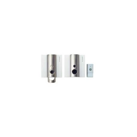 carillon sans fils zublin portee 200m avec poussoir zub7225. Black Bedroom Furniture Sets. Home Design Ideas