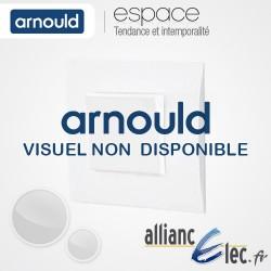 Cadre saillie 1 poste Blanc Arnould Espace