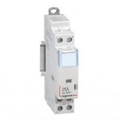 Contacteur de puissance Legrand bobine 24V~ sans cde manuelle 2P/250V~ 25A 2F