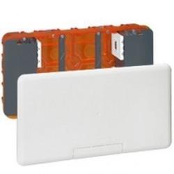 Boitier d'encastrement multimédia Legrand pour TV Plasma ou LCD avec couvercle