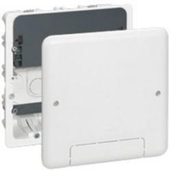 Boitier d'encastrement multimédia Legrand pour TV Plasma ou LCD 142 x 142 avec couvercle