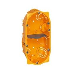 Boite Encastrement Legrand Batibox cloison sèche 2 postes - 4/5 modules - Prof. 40