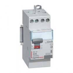 Interrupteur différentiel Legrand 40A ID DX3 type A 2P 30mA