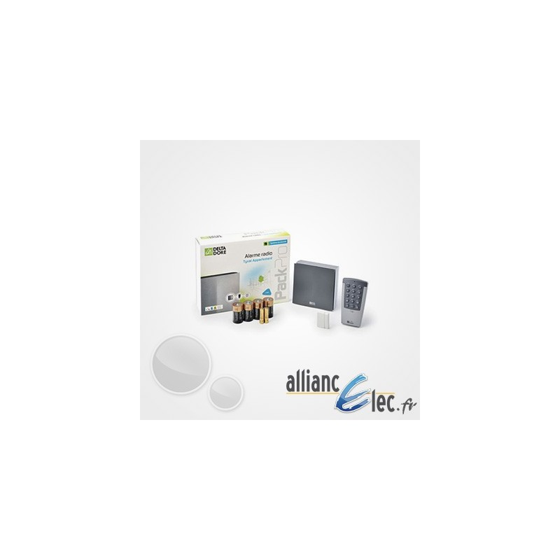 Alarme radio deltadore tyxal pour appartement ou petite for Alarme delta dore tyxal maison