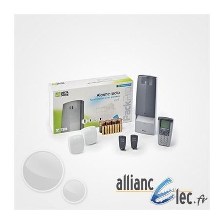 alarme sans fil deltadore tyxal pour maison ou local