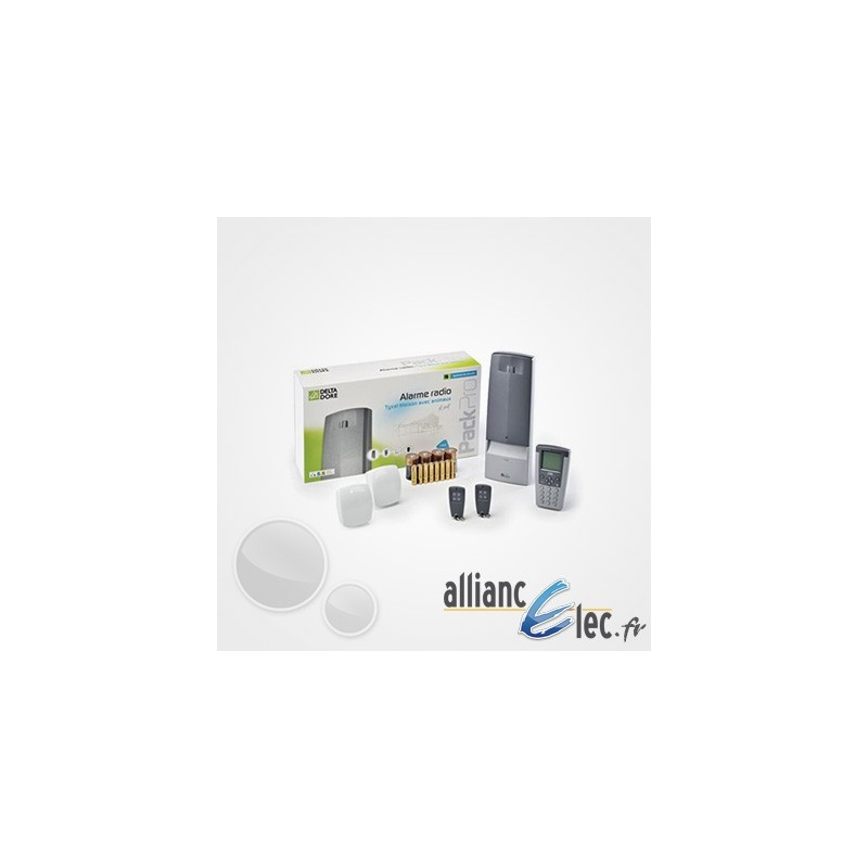 Alarme sans fil deltadore tyxal pour maison ou local for Alarme pour maison prix