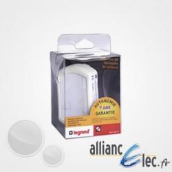 Alarme Monoxyde de carbone (CO) Legrand - Détecteur Avertisseur Autonome Radio, autonomie 7 ans
