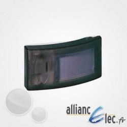 Bouton poussoir Legrand Salsa - porte-étiquette - IP 30 - IK 06