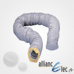 Gaine isolée Atlantic PVC diam. 125 - Longueur 6m