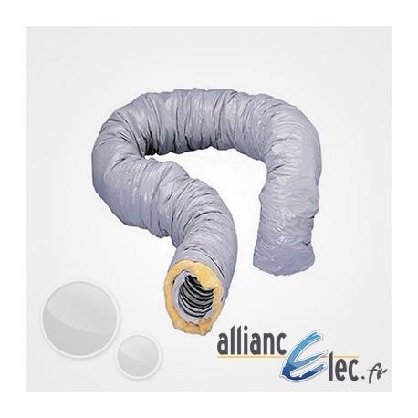 gaine isol e atlantic pvc diam 125 longueur 6m 423053. Black Bedroom Furniture Sets. Home Design Ideas