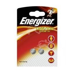 Pile LR44/A76 ENERGIZER Alcaline 2/A76 1,5 Volt - Blister de 2 piles
