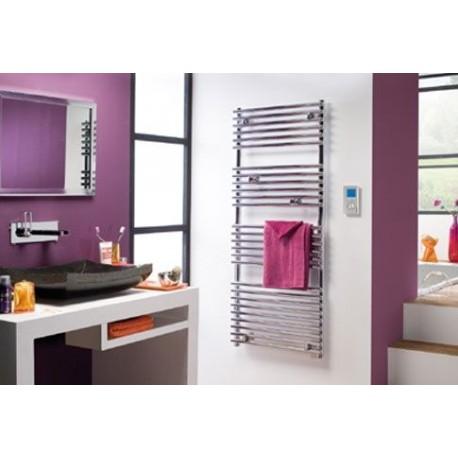seche serviette atlantic timelis chrome 300w 952103. Black Bedroom Furniture Sets. Home Design Ideas