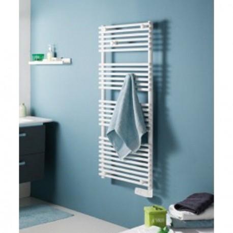 seche serviette atlantic timelis initial 500w blanc 953205. Black Bedroom Furniture Sets. Home Design Ideas