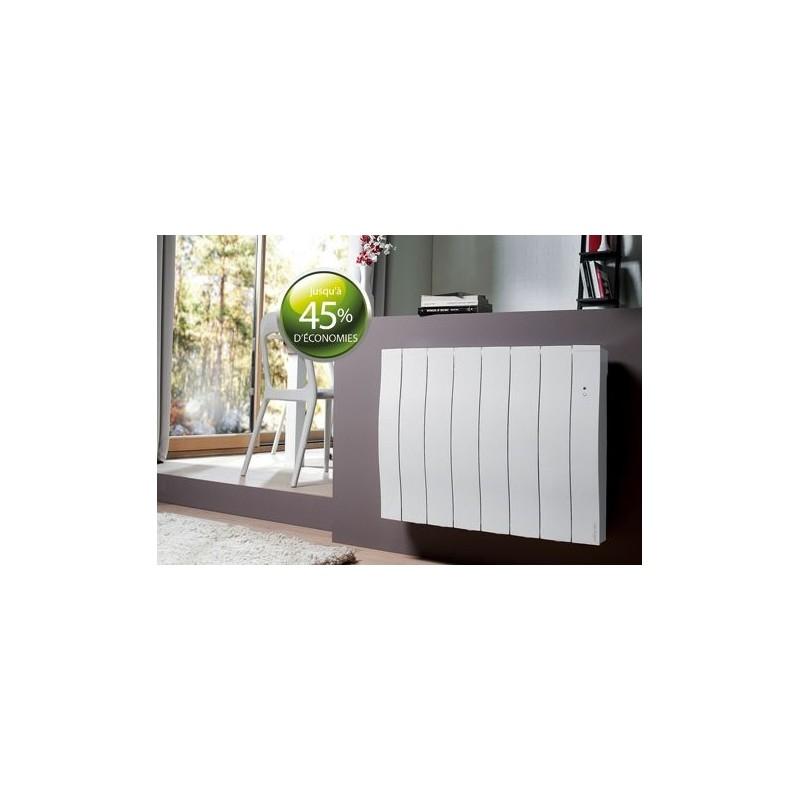 radiateur fluide atlantic galapagos 1000w horizontal blanc. Black Bedroom Furniture Sets. Home Design Ideas