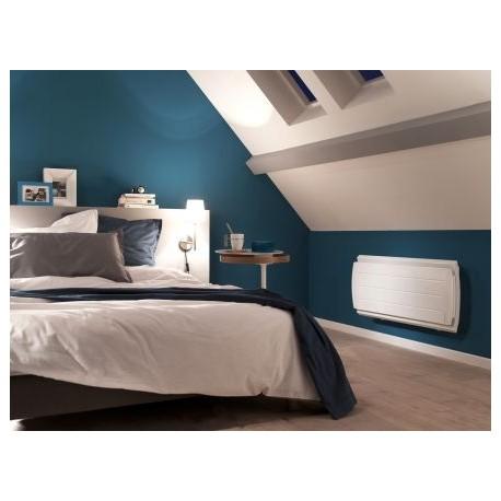 radiateur atlantic maradja 1500w inertie fonte digital bas blanc. Black Bedroom Furniture Sets. Home Design Ideas