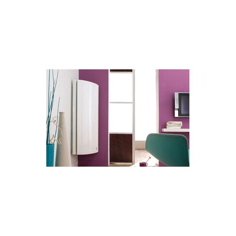 radiateur atlantic maradja 1000w inertie fonte vertical blanc. Black Bedroom Furniture Sets. Home Design Ideas