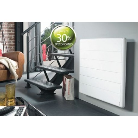 radiateur atlantic kendo 2000w inertie alu digital blanc. Black Bedroom Furniture Sets. Home Design Ideas
