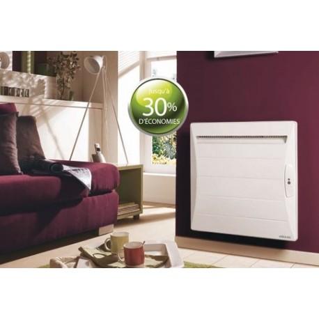 radiateur atlantic shangai 1000w inertie alu ecodomo blanc. Black Bedroom Furniture Sets. Home Design Ideas