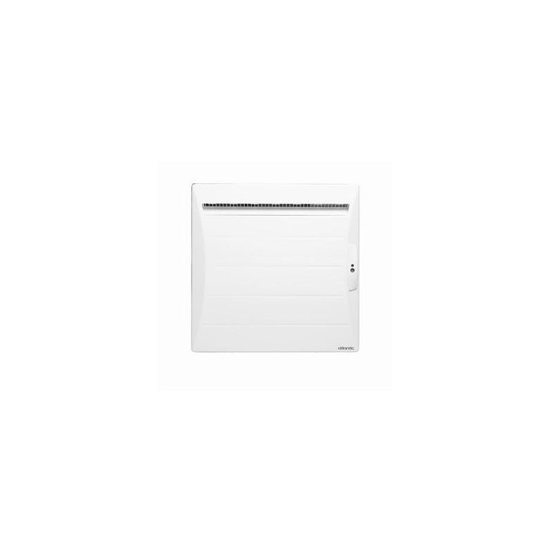 radiateur atlantic shangai 500w inertie alu ecodomo blanc. Black Bedroom Furniture Sets. Home Design Ideas