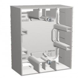 Cadre Saillie 1 Poste Arnould Espace Evolution Blanc