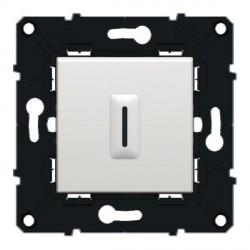 Interrupteur Temporisé 300W 2 Fils Arnould Espace Evolution Blanc