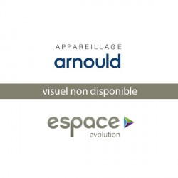 Plaque Decors Turquoise 3 Postes Arnould Espace Evolution