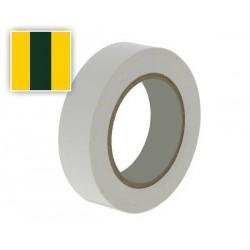 Ruban adhésif PVC Isolant Jaune / Vert