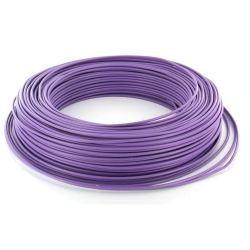 Fil HO7 V-U 2,5 mm² Violet Rigide couronne de 100 M