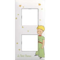 Plaque 2 Postes collection Le Petit Prince La Nuit Arnould Evolution