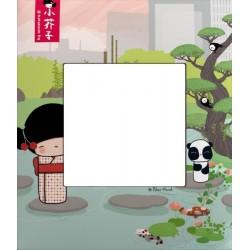 Plaque 1 Poste collection Kokeshi Aoki Arnould