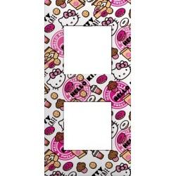 Plaque 2 Postes collection Hello Kitty Café Arnould