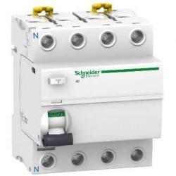 Interrupteur Différentiel 4P 100A 30MA AC Schneider ACTI 9