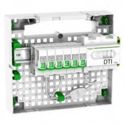 Coffret de communication schneider legrand michaud ou multimedia - Branchement coffret de communication ...