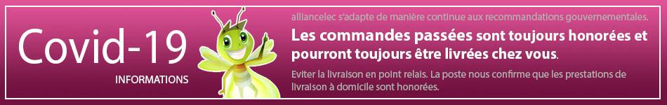 Covid-19 LIVRAISON NORMALE chez Alliancelec !
